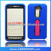 Hybird Case For LG Optimus G2,Combo silicone Case For LG Optimus G2 D801