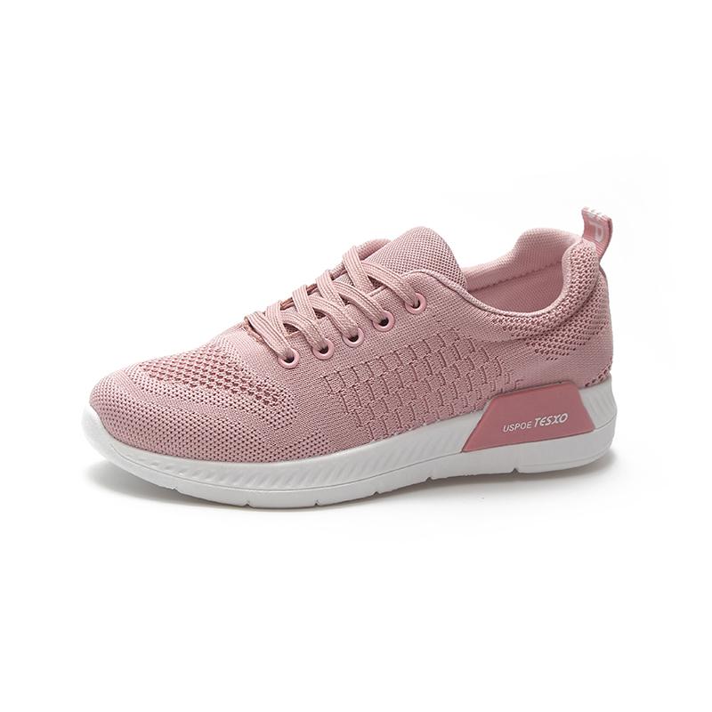 9f2444bfb Прямая продажа с фабрики модные сетчатые верхний материал eva подошва для  женщин бег Розовый Спортивная обувь air женская спортивная обувь бадминтон