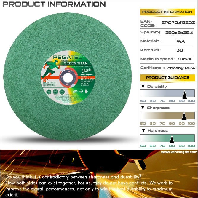 4'' Special T41 EN12413 china diamond tile cutting discs for metal and steel with en12413
