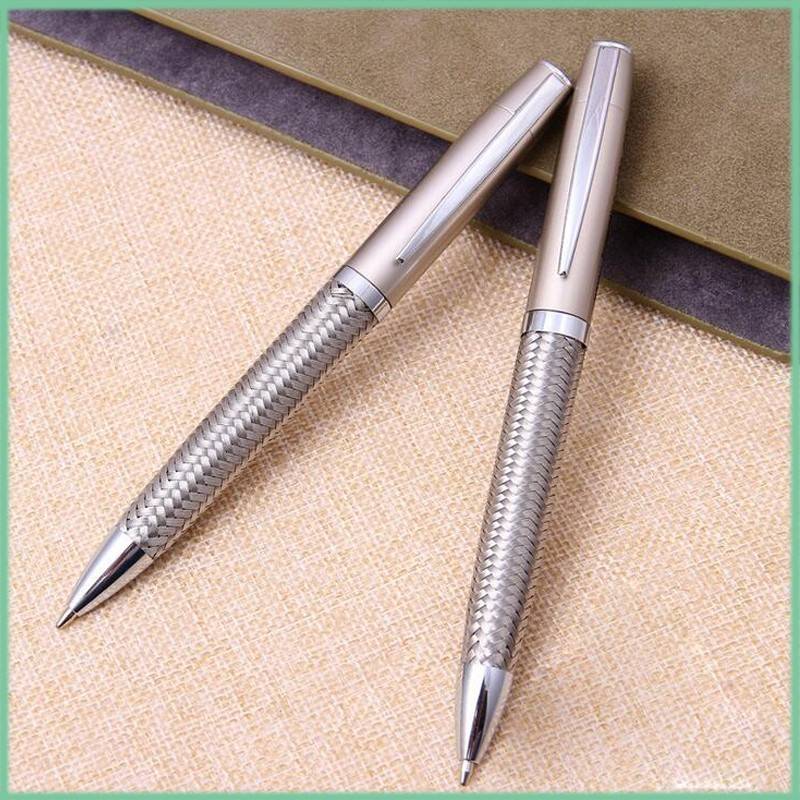 . fashion stainless steel wire braid metal pen
