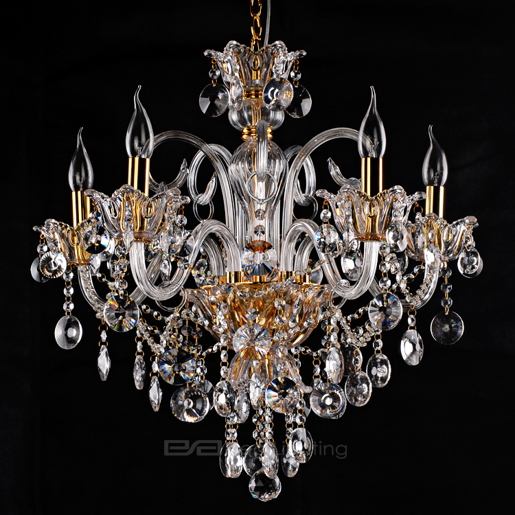Sea Lighting zhongshan qr-lp111 handmade crystal lamp traditional suspended chandelier light 2106097