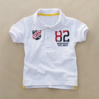 66b0a3987 Bebé moda Polo camiseta niños tops ropa de niño hacer al por mayor ropa de  niños