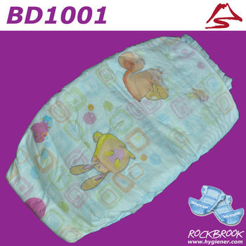 High Quality Reasonable Price Disposable Baby Diaper Manufacturer from China