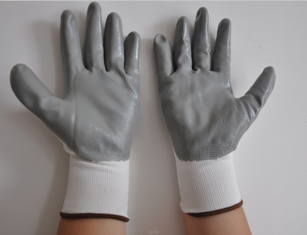 Cut Resistant Kitchen Gloves Level 5 Black Pu Palm Coated Safety Work Glove Buy Cut Resistant