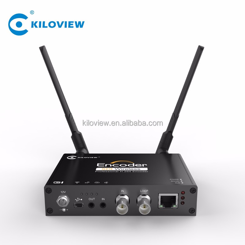 Wireless HD SD 3G SDI 1080P Video a IP Convertitore, trasmissione in diretta H264 SDI per IP IPTV In Streaming Video Encoder