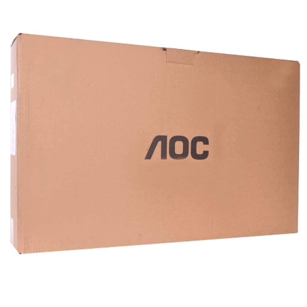 """AOC E2752VH-B 1080p Full-HD LED Backlit Monitor with Build-In Stereo Speakers, 27"""" (Factory Reconditioned)"""