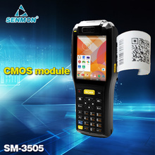 Wireless Android Barcode Scanner Built-in 58mm Thermal Receipt printer Handheld PDA Device with Camara scanner sensor