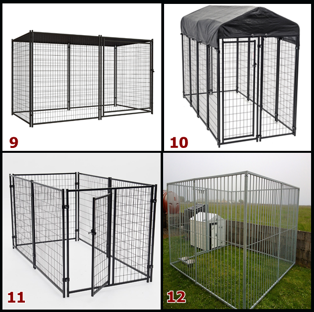 6ft*5ft or 6ft*10ft weld dog kennel
