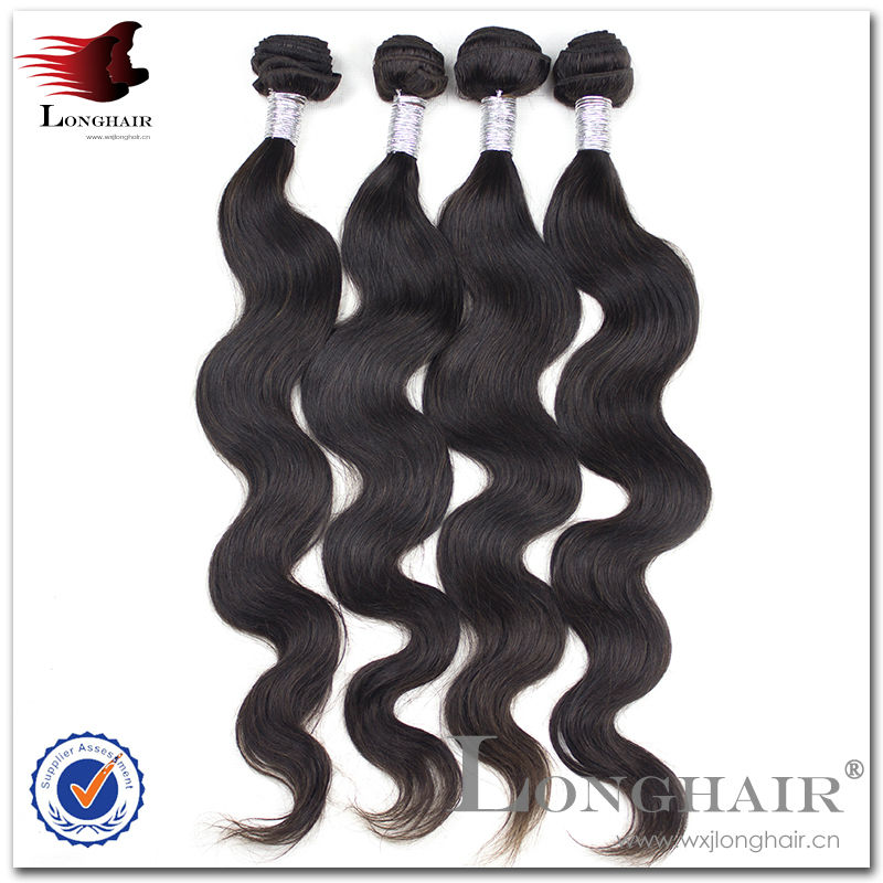 Factory Direct Sell Completely Unprocessed Guangzhou Brazilian Remy Hair Bundles