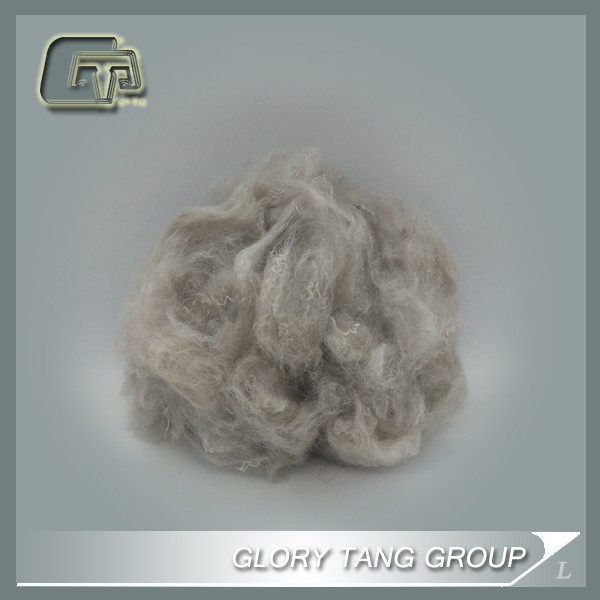 GTR13 solution dyed pet recycle polyester staple fiber 1.5d