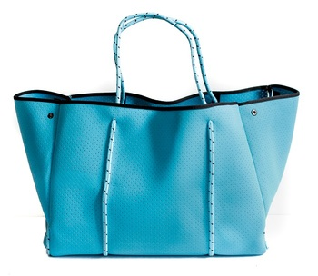 Perforated Neoprene Lady Tote Bag