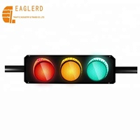 High quality 300mm full screen/arrow traffic lights led traffic signal module Solar LED light With countdown timer