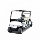 China brand new 6 seater electric golf cart with high quality