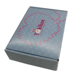 Cigarette box paper bracelet packaging mailer box corrugated live plant shipping box