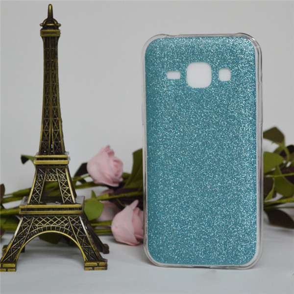 Ultra Thin Frosted Shimmering Powder Peake Soft Tpu Case For Samsung Galaxy J1 J100 J7 J5 J8 Back Cover