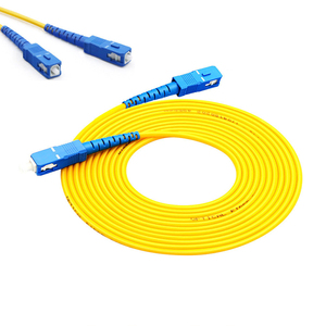 Factory OEM SC LC FC E2000 APC simplex ethernet 2mm fiber optic ftth patch cord cable for network