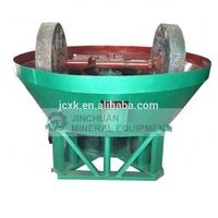 China wet pan mill for gold milling machine