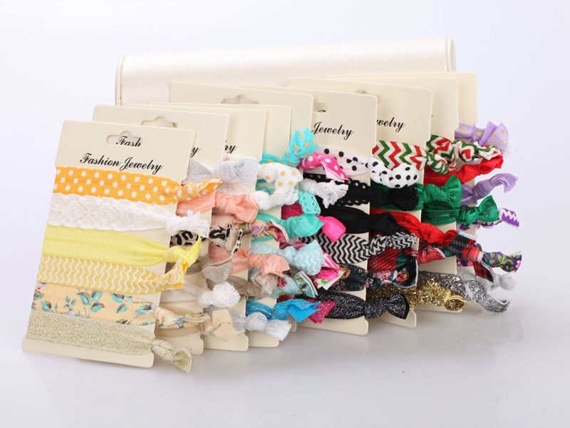 6pcs/pack 2015 Women Fashion Hair Jewelry Elastic Hair Bands Hair Accessories Trendy Hairband For Women