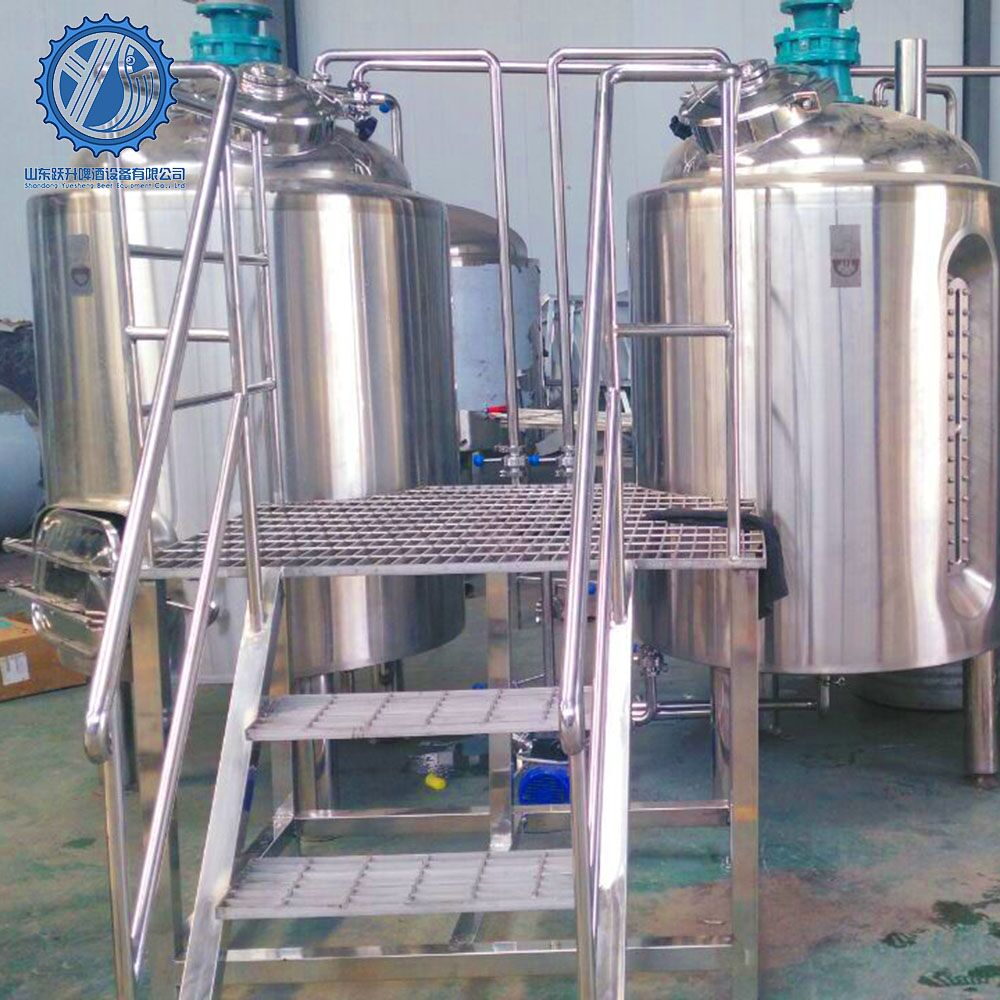 800L industrial beer brewing equipment for sale