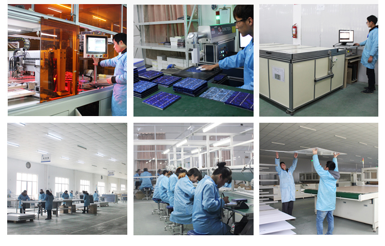 Yuanchan Top 1 Low Price Polycrystalline 60 Cells 270W Solar Panels TUV CE ISO Certificates