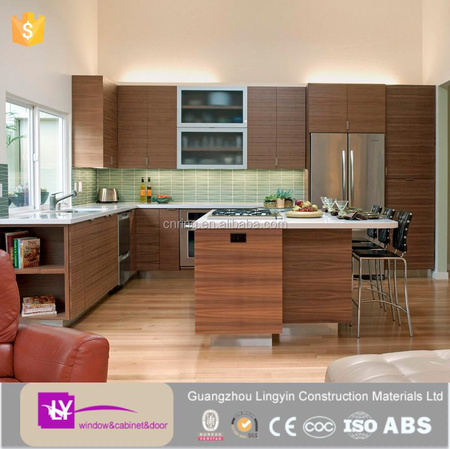 Neuesten pvc küchenschrank design schranktür materialien küchen ...