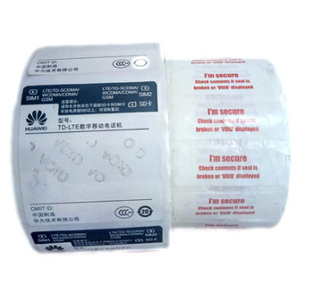 China Cheap Thermal Printing Sticky Paper Thermal Label Roll