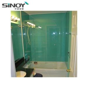 Back Painted 4mm 5mm 6mm Glass For Interior Bathroom And Toilet Decoration