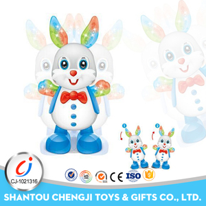 New design educational electronic rabbit toy for baby