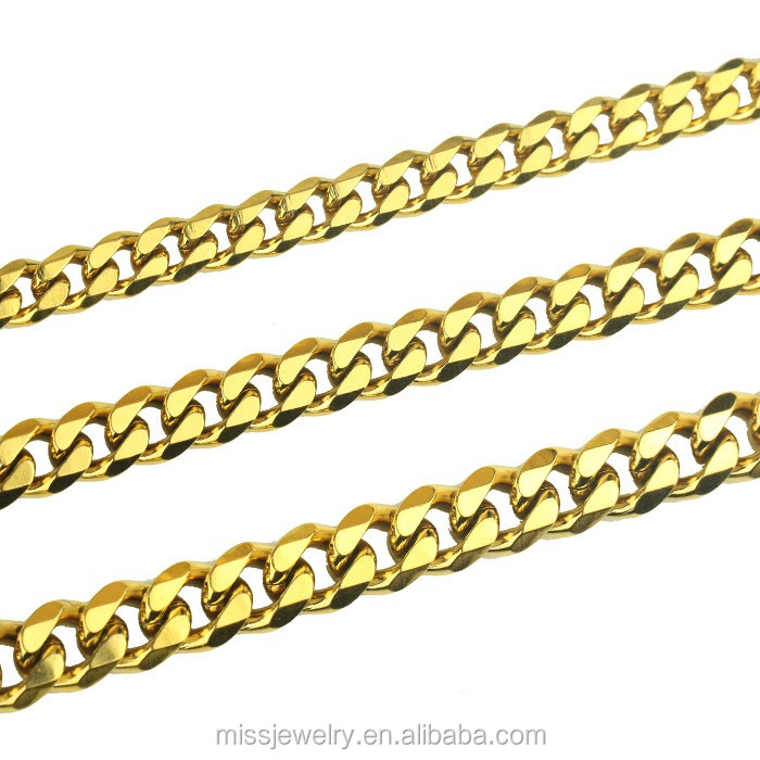 6mm Chain Stainless Steel Jewelry Mini Cuban Link Choker фото
