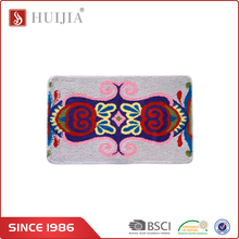 HUIJIA Factory Price Merino Flower Pattern Home Center Decorative Wool Rugs