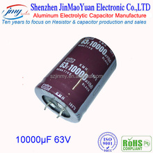audio hi-fi power electrolytic capacitor 10000uf 63V capacitor