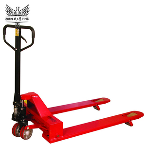 2T 2.5T 3T Capacity AC Casting Hydraulic Pump Manual Hand Pallet Truck With Nylon PU Wheel