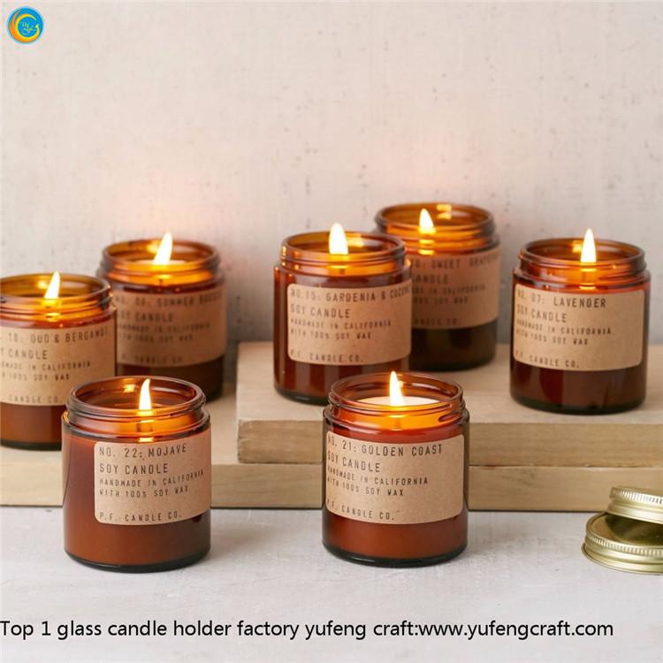 Venta al por mayor envases de vidrio para difusores de - Proveedores de velas ...