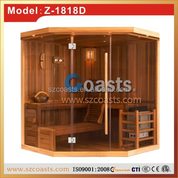 New design personal sauna shower steam room combination