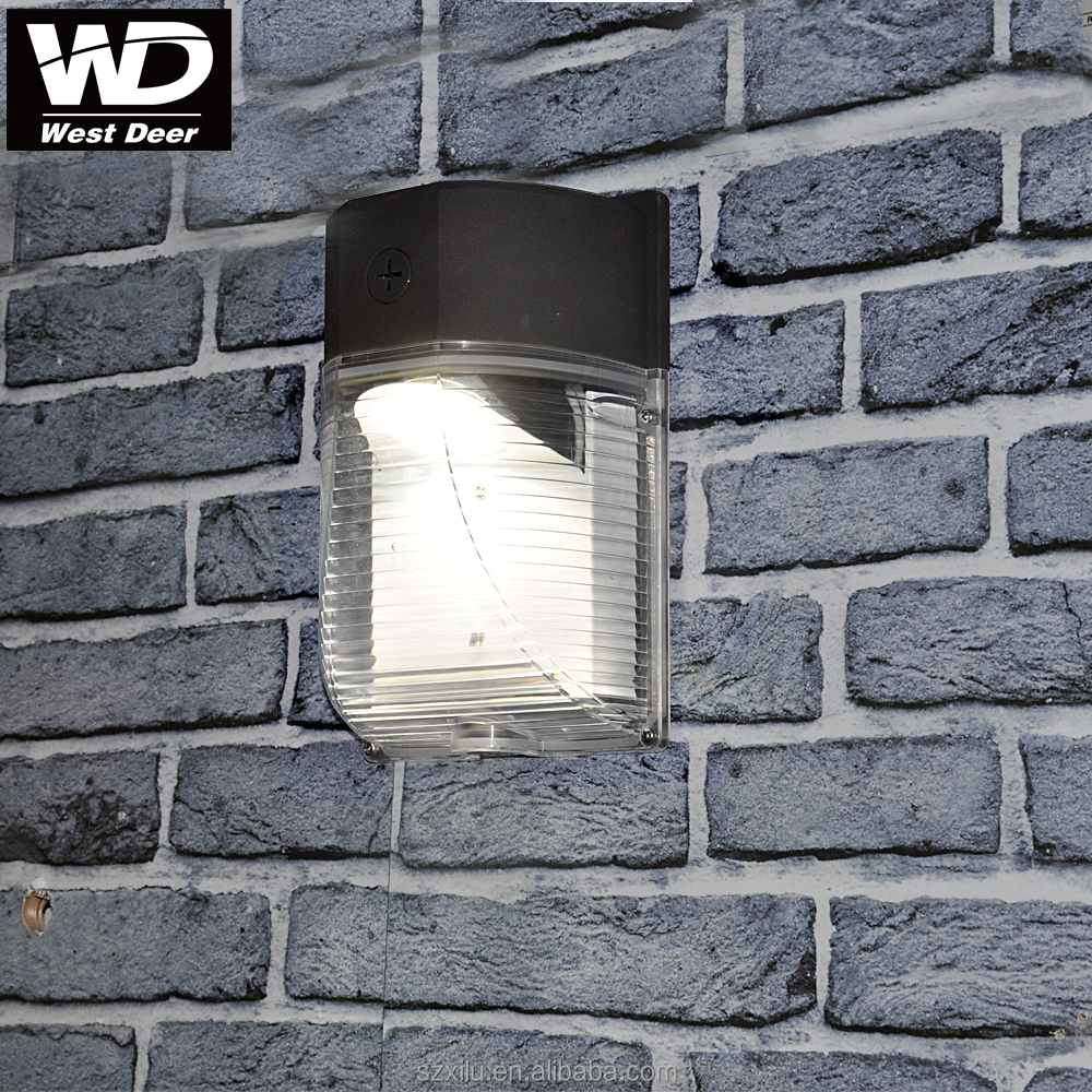 Outside Die Casting Aluminum dusk to dawn motion sensor outdoor wall lighting 18w 1980lm