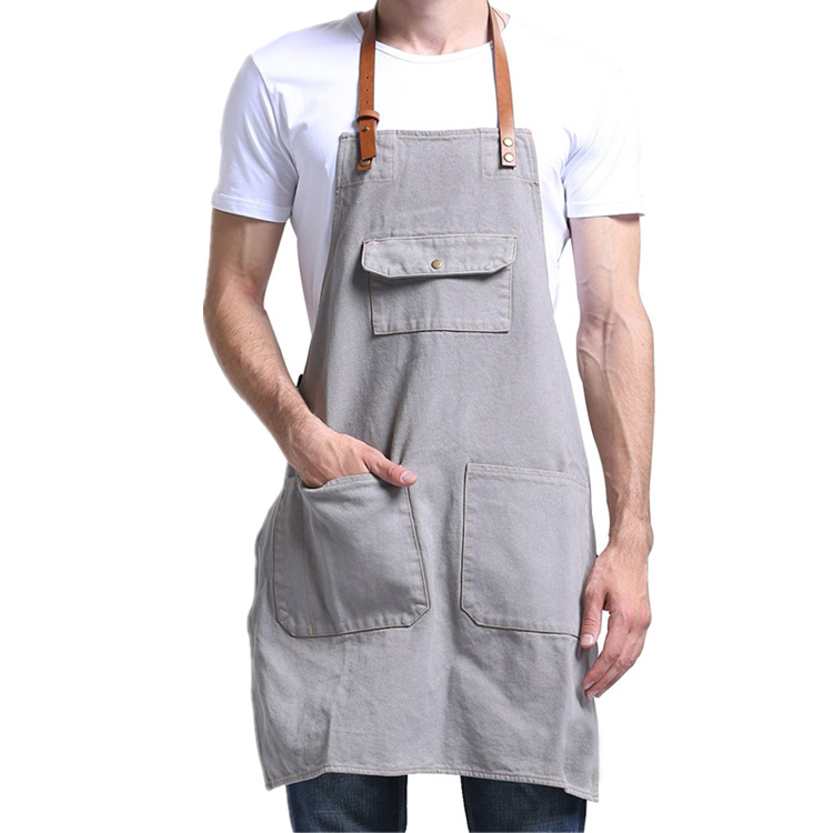 Apron with flipping dick