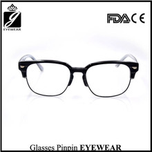 fashion eyeglasses men optical glasses handmade acetate silhouette eyeglasses frames