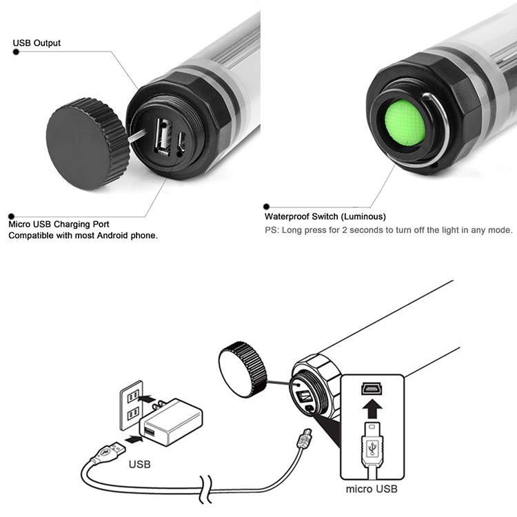 Professional Photographic Equipment Studio LED Tube Lights for Photo