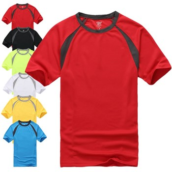 Outdoor Sports O Neck Blank Dri Fit T Shirts Wholesale