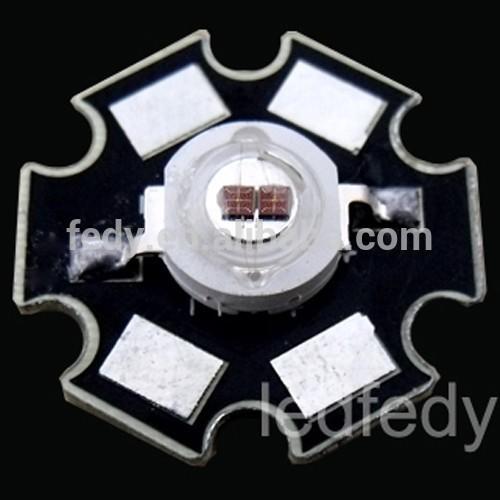 745nm-Hi Power 3 vatios 3w High Power LED infrarrojos//infrarrojos 740nm