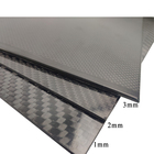 Carbon Fiber Sheet Carbon Fibre Sheet Real Carbon Fiber Laminated Sheet 1mm 2mm 3mm Thickness Carbon Fiber Sheet