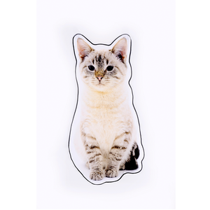 Hot sale super soft 100% cotton custom print digital gift towels kids baby beach towel with cat shape pattern
