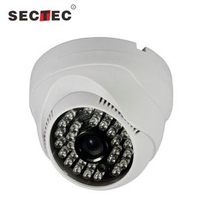 720P cctv security plug and play onvif hd dome ip p2p network camera