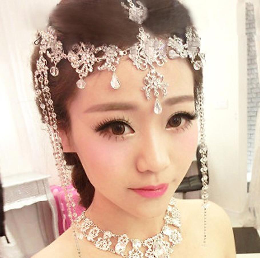Indian Wedding Headdress: India Headdress Wedding Headdressレビュー -オンラインショッピング India