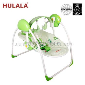 Double Electric Bed Music Baby Cradle Swing