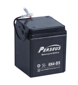 6N4-BS/6V4ah 6N4-BS motorcycle battery, Best price for China high Quality YUASA motorcycle battery