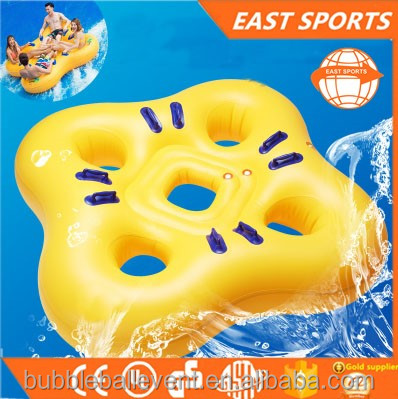 Good Quality Water Game Inflatable Twin Baby Double Swim Float Seat