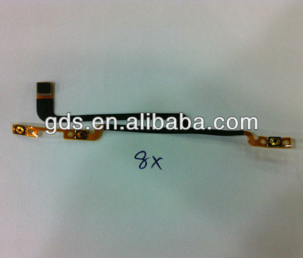 Power on/off Volume Button Flex Cable for HTC Windows Phone 8X