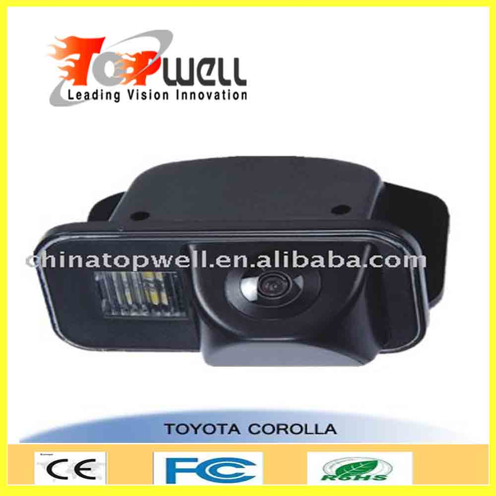 car reversed aid original Mounted IP 67 Rear View Camera for Toyota Corolla