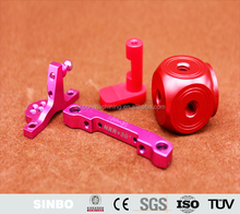 Aluminum CNC milling precision turning anodizing machining parts